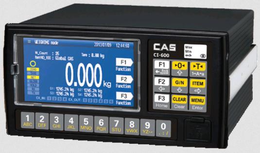 Весовой индикатор CAS CI-600D