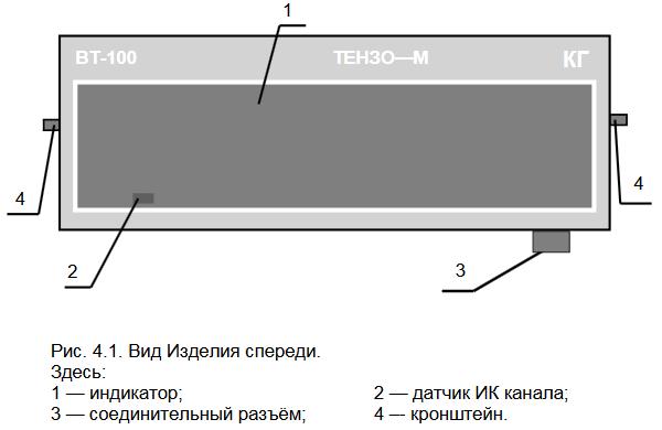Выносное табло ТЕНЗО-М ВТ-75