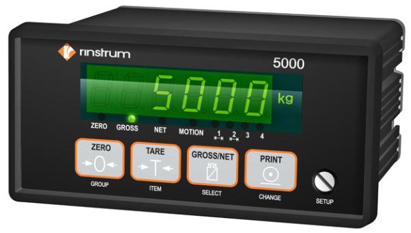 Весовой терминал Rinstrum 5000