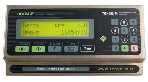 Весовой терминал ТЕНЗО-М ТВ-017