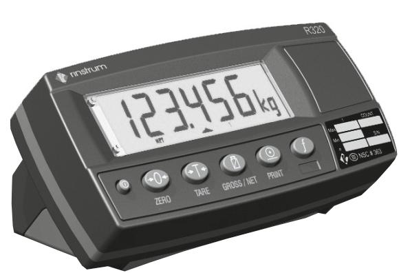 Весовой индикатор Rinstrum R320 настольный