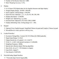 Технические характеристики SUPMETER BST106-H16 D Часть 1