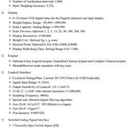 Технические характеристики SUPMETER BST106-H18 Часть 1