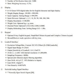Технические характеристики SUPMETER BST106-H16 F Часть 1