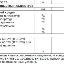 Технические характеристики HBM DWS2103 Часть 3