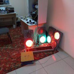 Автоматизация весовых: проверка функционрования светофоров