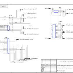 Схема коммутационной коробки