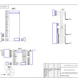 Схема шкафа управления