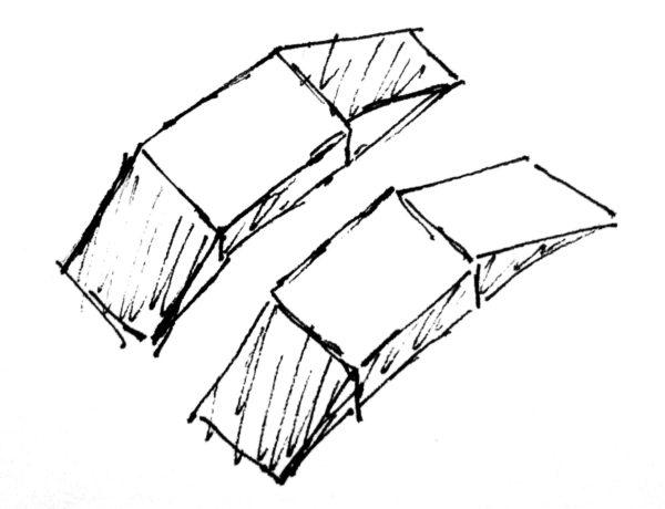 Схематическое изображение подкладных весов