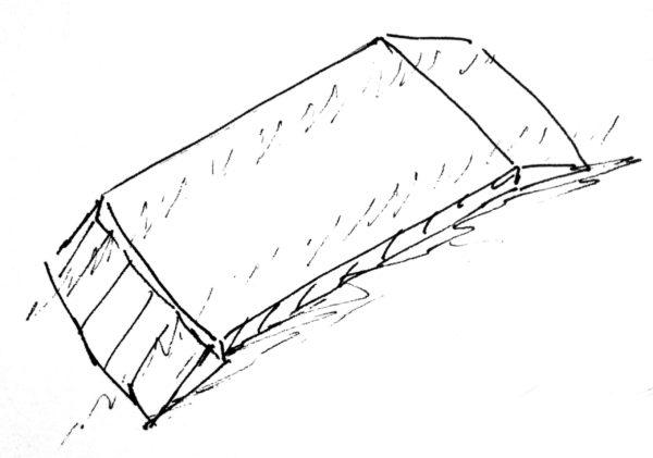 Схематическое изображение платформенных весов