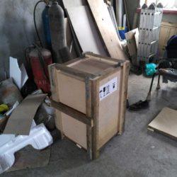 Упакованнаая в ящик система